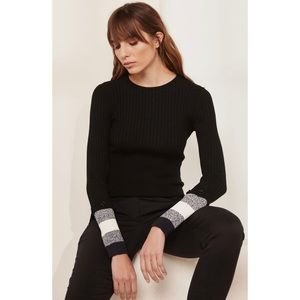 Sportmax Code Ribbed Thermal Cuff Sweater